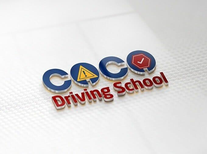 Coco Driving School Logo Design