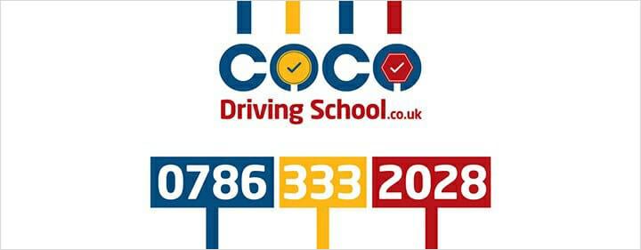 Coco Driving School Signboard