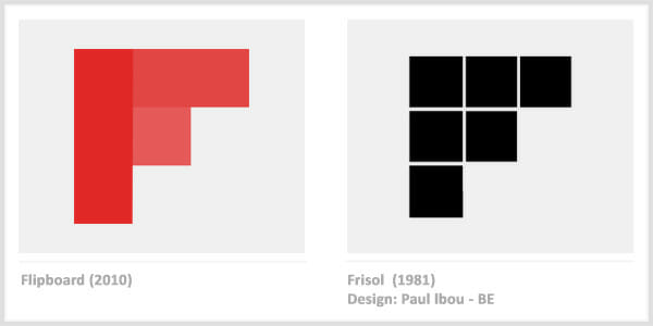 Flipboard vs. Frisol - Famous Company Logos