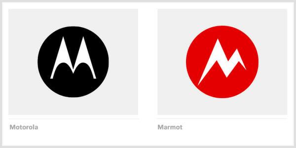 Motorola vs. Marmot - Famous Company Logos