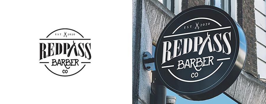 Redpass Barber Co - Realistic Mockups