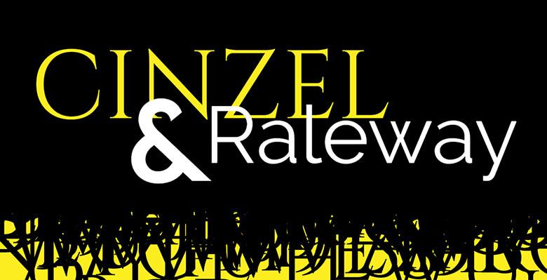 Cinzel and Raleway