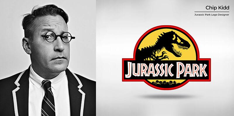 Chip Kidd (Jurassic Park logo)