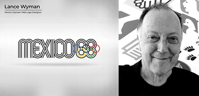 Lance Wyman (Mexico Olympics 1968 logo)