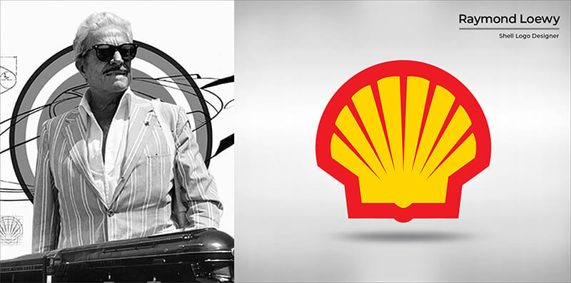 Raymond Loewy (Shell logo)