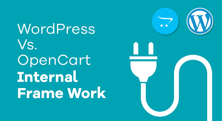WordPress Vs. OpenCart Internal Frame Work