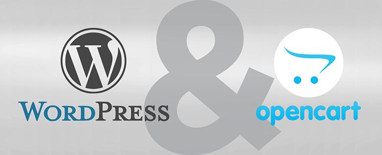 WordPress & OpenCart