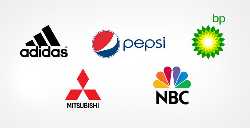 Abstract logo design marks