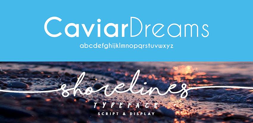 Caviar Dreams and Shorelines Script