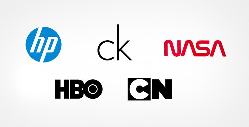 Monogram logos or Lettermarks
