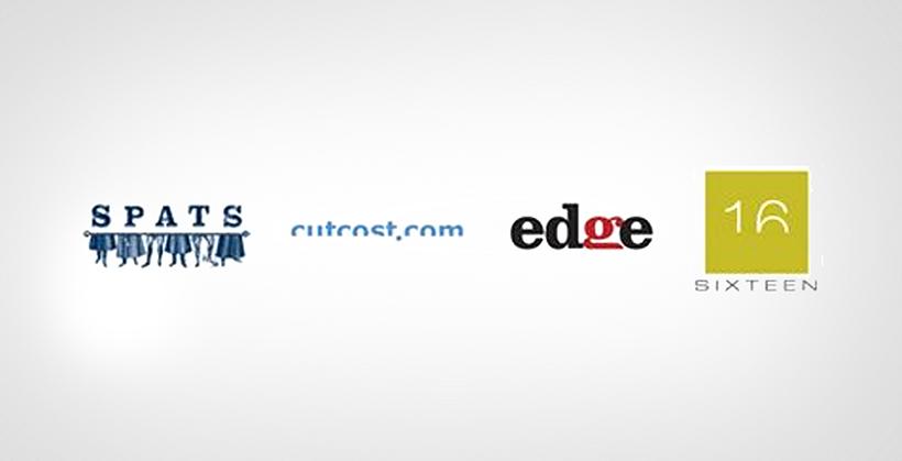 Half-Chopped Text Logos