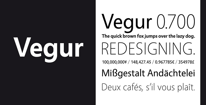 Vegur by TipoType