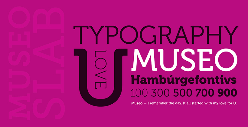 Museo Slab by Xlibris Font Foundry