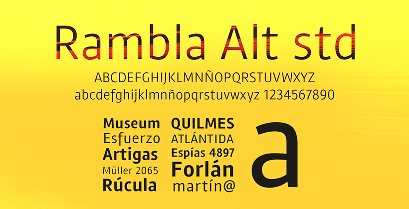 Rambla Alt by TipoType