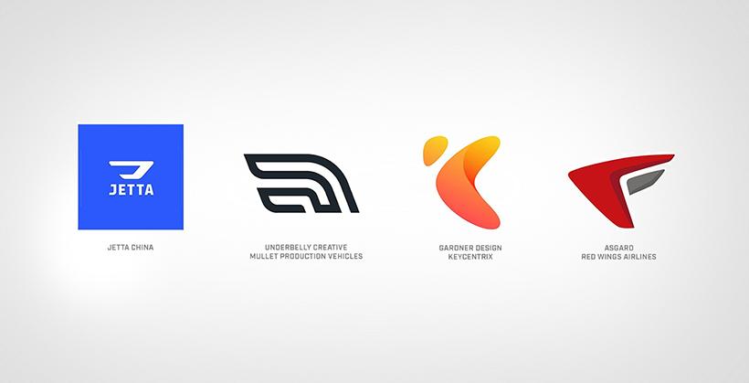 Wings Inspired Logos
