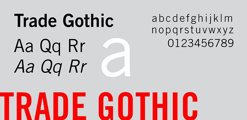 Trade Gothic