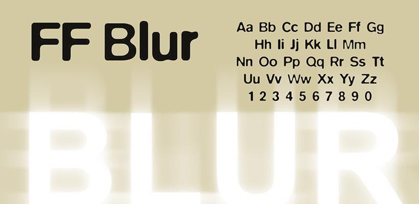Blur - Font Designers