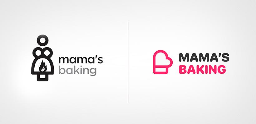 Mama' Baking Logo