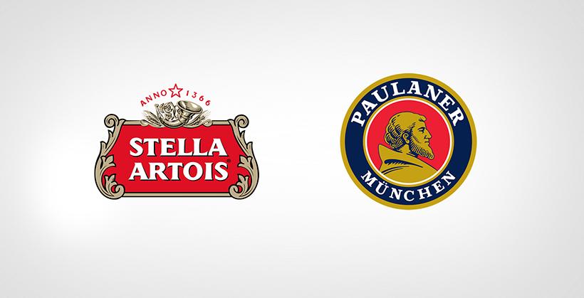 Stella Artois And Paulaner Munchen Logo