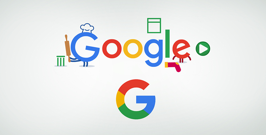 2015 and Now Google Logo
