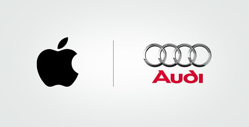 Apple & Audi Logo