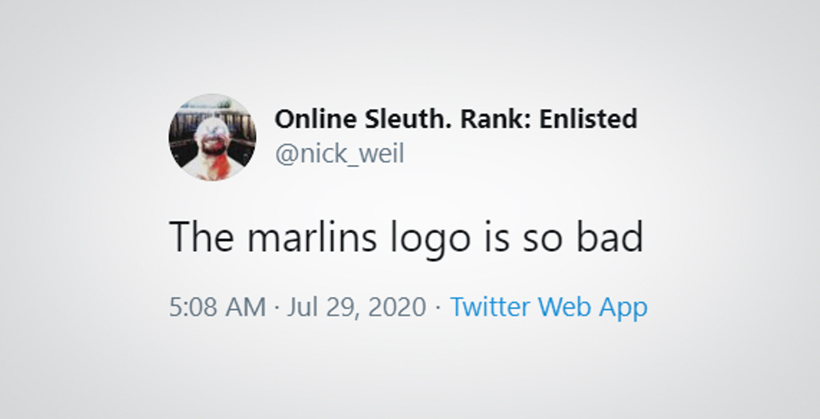 Online Sleuth, Rank: Enlisted Tweet