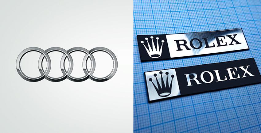 Audi and Rolex Logo