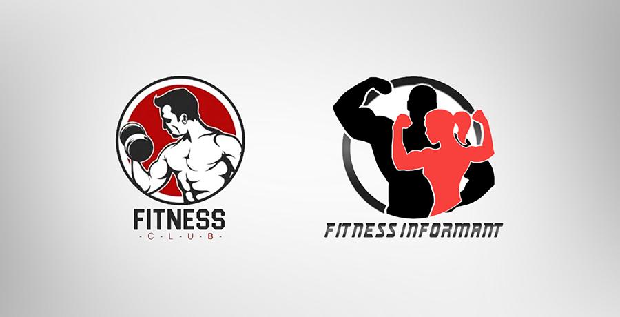 Fitness logos