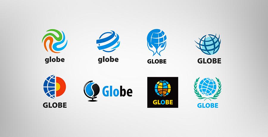 Globes Logos
