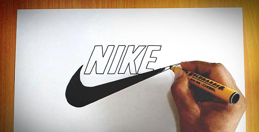 Minimalism Nike Logo
