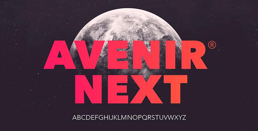 Avenir - Famous Fonts