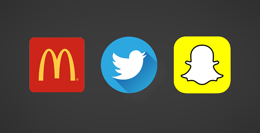 Brand Guidelines followed by McDonald, Twitter and Snapchat