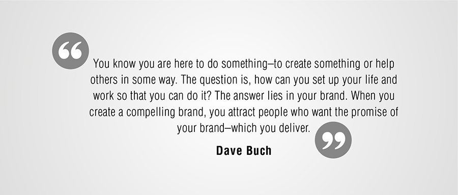 Branding Quote by Dave Buck