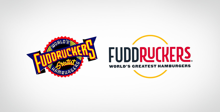 Fuddruckers logo - Comples business logo to simple
