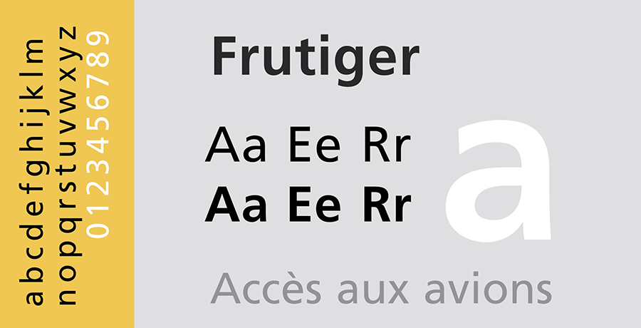 Frutiger - Font Creators