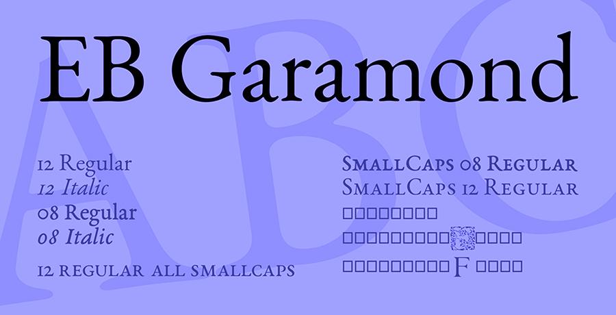 Garamond - Most Iconic Fonts