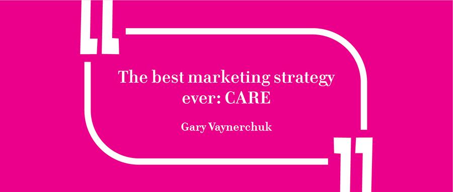 Gary Vaynerchuk's Branding Quote