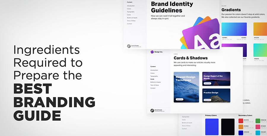 Ingredients for Best Branding Guide