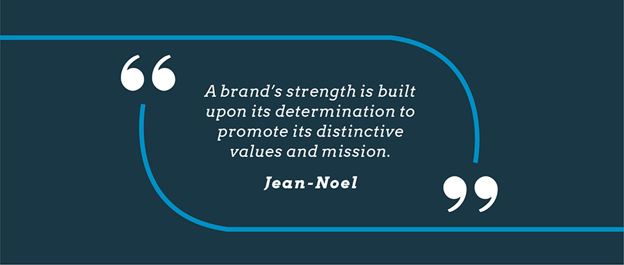 Branding Quote by Jean-Noel Kapferer