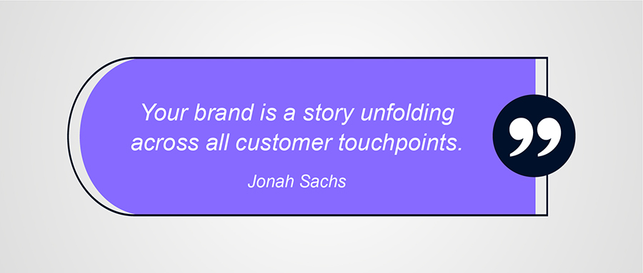 Branding Quote by Jonah Sachs