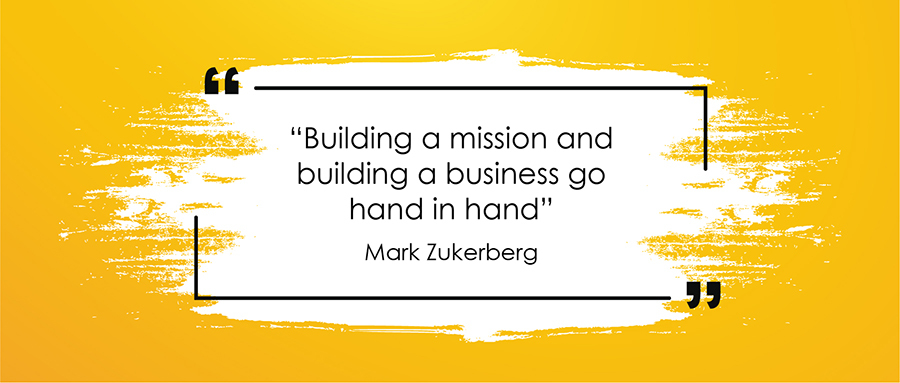 Mark Zuckerberg's Branding Quote