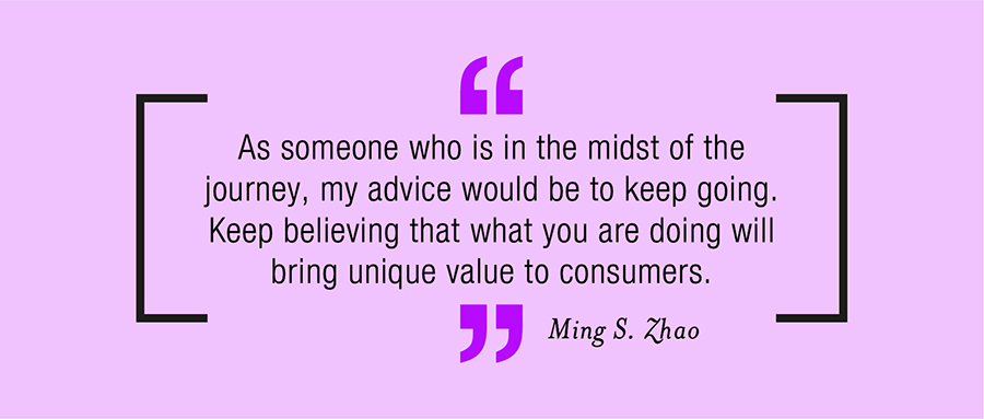 Branding Quote by Ming S. Zhao