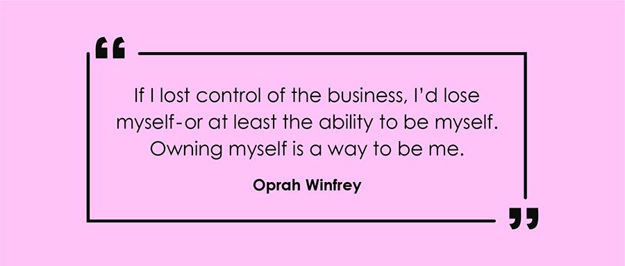 Oprah Winfrey's Branding Quote