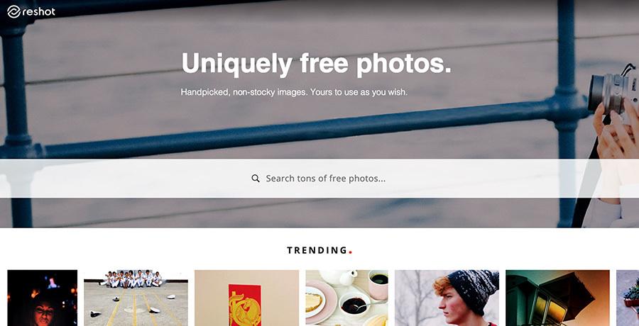Royalty free images - Reshot.com