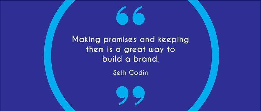 Seth Godin's Brand Quote