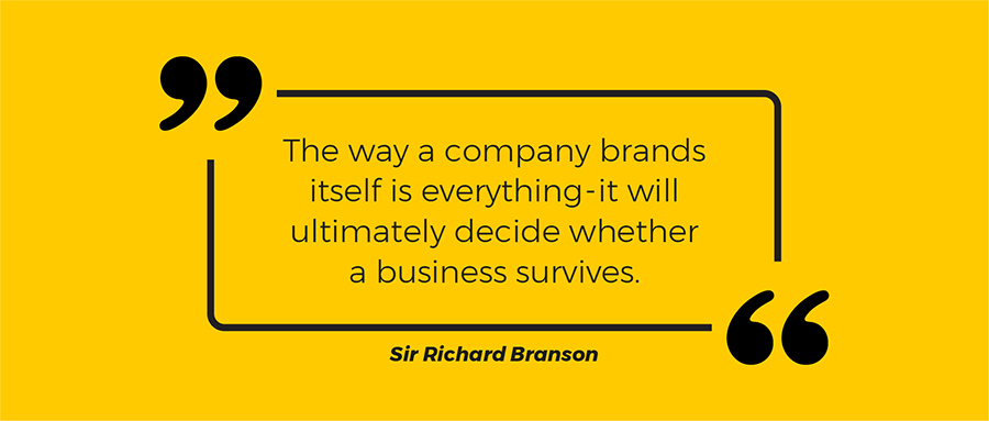 Branding Quote by Sir Richard Branson