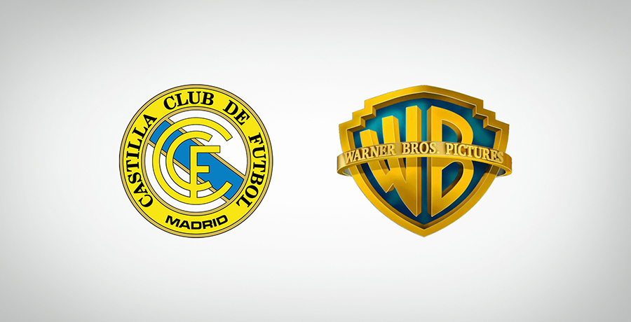 Real Madrid Castilla Club de Fútbol And Warner Bros Logo