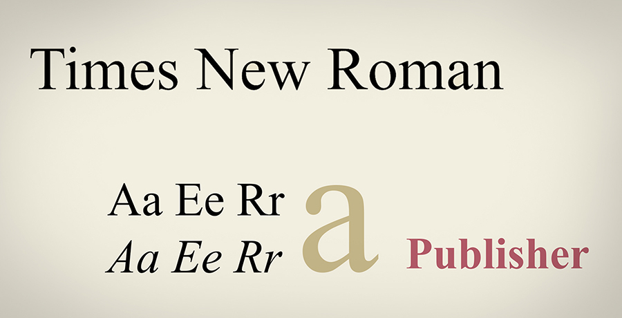 Times New Roman - Most Iconic Fonts