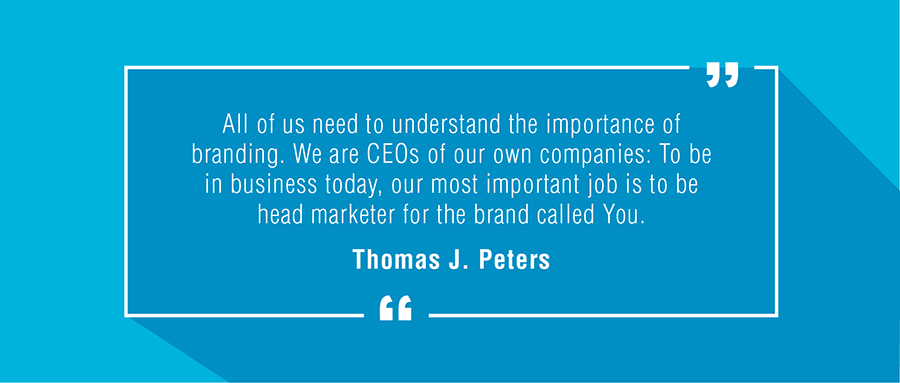 Brand Quote by Tom Peters