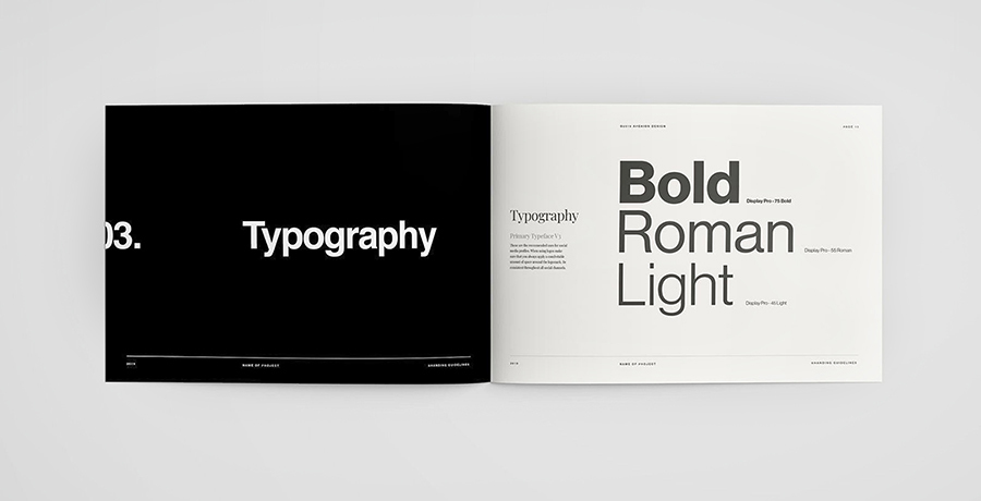 Brand Style Guide - Typography